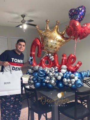 Decoloverballoons.com Balloons Bouquet King tampa florida