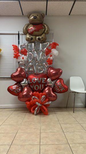 decoloverballoons.com Balloons Bouquet Sweet Bear tampa florida