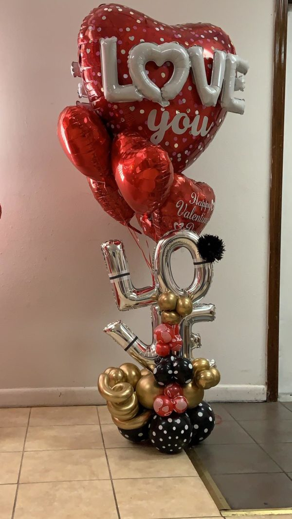 decoloverballoons.com Balloons Bouquet floating love tampa florida