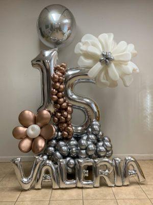 decoloverballoons.com Balloons Bouquet silver birthday 3 tampa florida