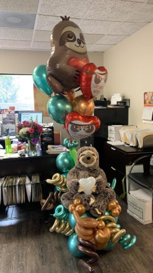 decoloverballoons.com Balloons Bouquet sweet lazy bear 2 tampa florida