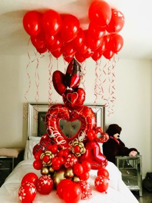 decoloverballoons.com balloons bouquet passion tampa florida