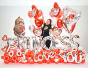 Curso Online MAXI BOUQUET Princess - Decoloverballoons.com